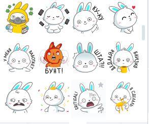 Как получить стикеры Кролик Олег в ВК бесплатно